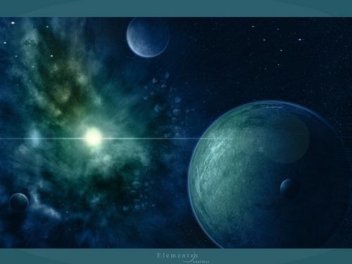 o espaço Art wallpaper (Sci-Fi)
