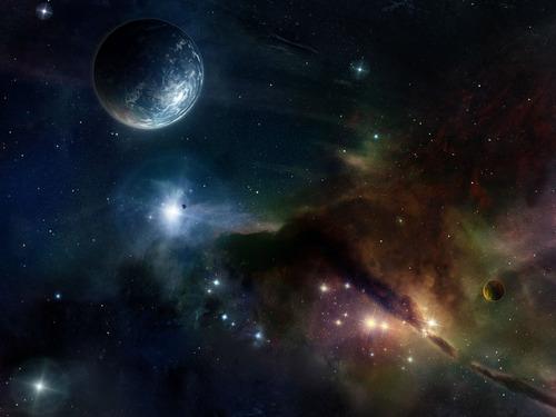 우주 Art 바탕화면 (Sci-Fi)