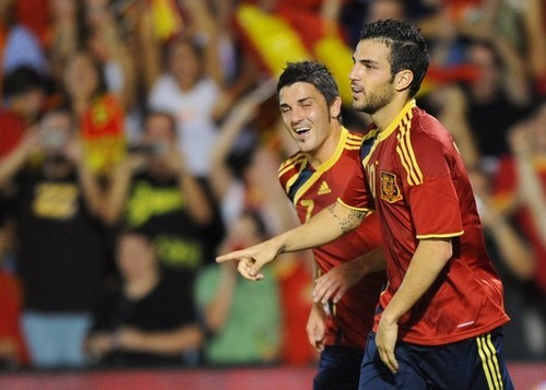 Spain vs. Estonia - September 9th, 2009 - cesc-fabregas Photo