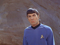 Spock in ''Friday's child''