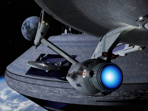 Star Trek wallpaper entitled Stealing the Enterprise