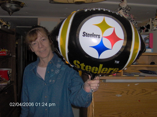 Steeler Fan Carla