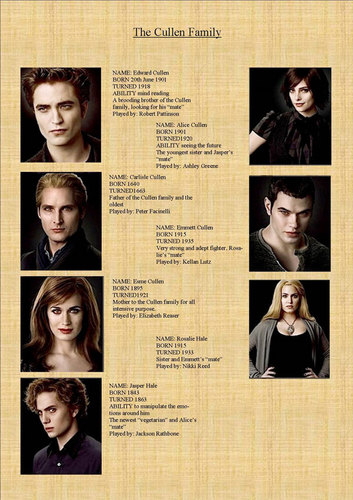 New Moon Movie wallpaper probably containing a newspaper called The Cullen Family
