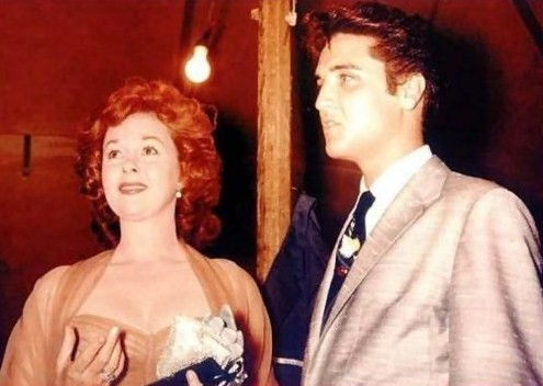 The King and Susan Hayward