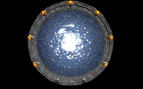 Stargate wallpaper entitled The Stargate