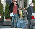 Tim Roth and his family