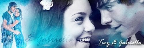 High School Musical 3 wallpaper titled Troy & Gabriella