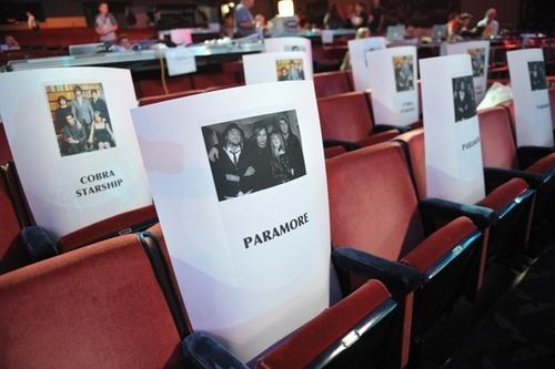 VMA 2009 Seatings: Paramore