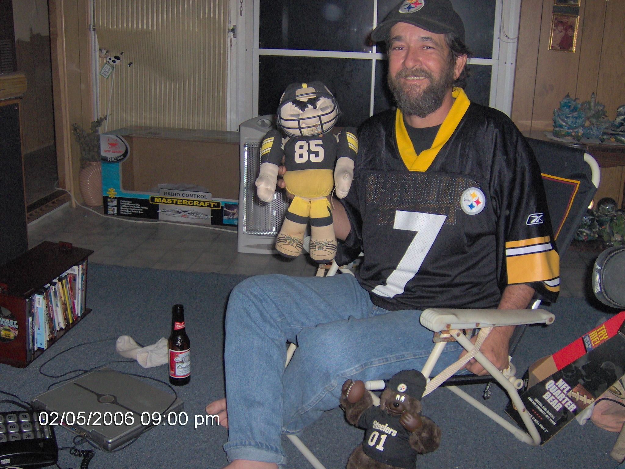 Watching Super Bowl 40