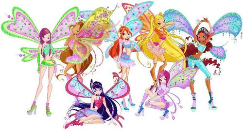 El Club Winx fondo de pantalla probably with a hard dulces entitled Winx club