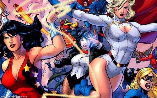 Women of DC Widescreen