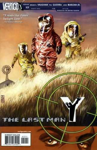 Y: The Last Man - Issue Covers