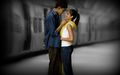 You and Me, and Everything Else Turns Gray - slumdog-millionaire fan art