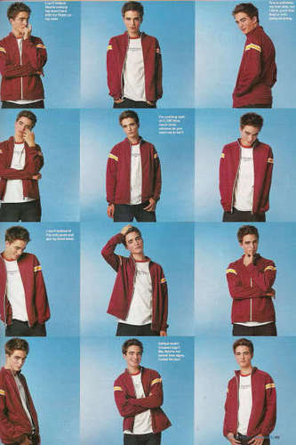 Young Rob modeling