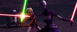 ahsoka and ventress on teth