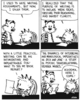 calvin writing - writing-world Icon