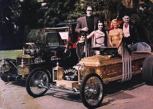 The Munsters + cars