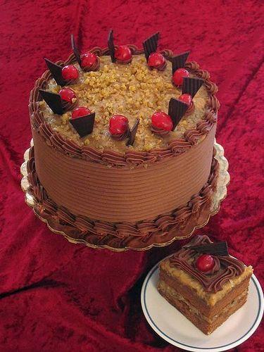 german Schokolade cake