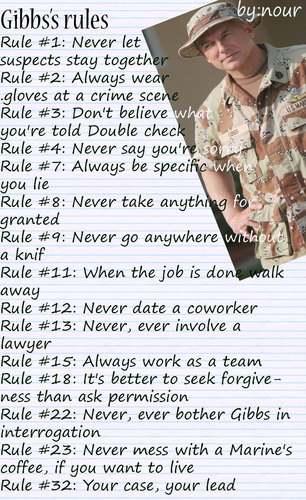 Abby ncis dating rules