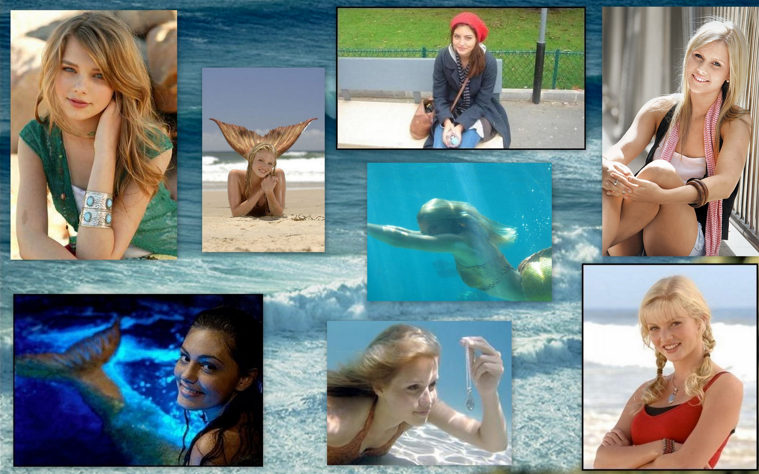 H2o collage h2o just add water wallpaper 8052838 fanpop for H2o just add water season 4
