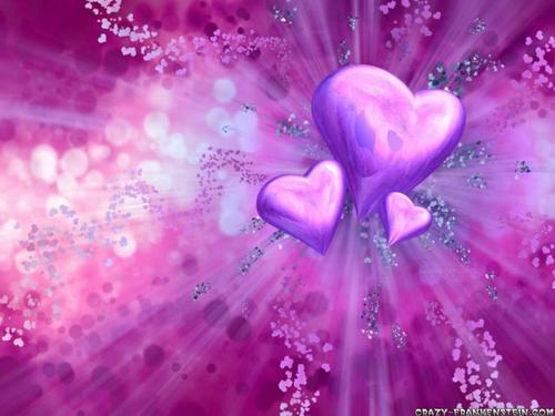 hart-, hart achtergrond