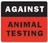 Against Animal Testing! photo possibly with a videocassette called help animal testing!
