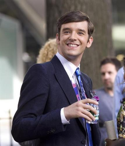 on set of ugly betty- 4 sept/09