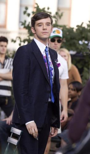 on set of ugly betty- 4sep/09