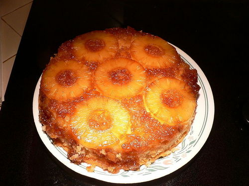 pineapple upsidedown cake - all-cakes Photo