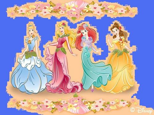 Classic Disney achtergrond called princess