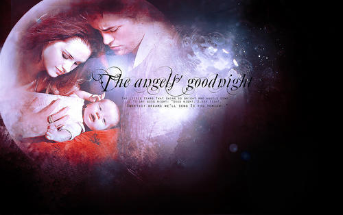 Renesmee Carlie Cullen wallpaper probably containing a fire called renesmee edward and bella