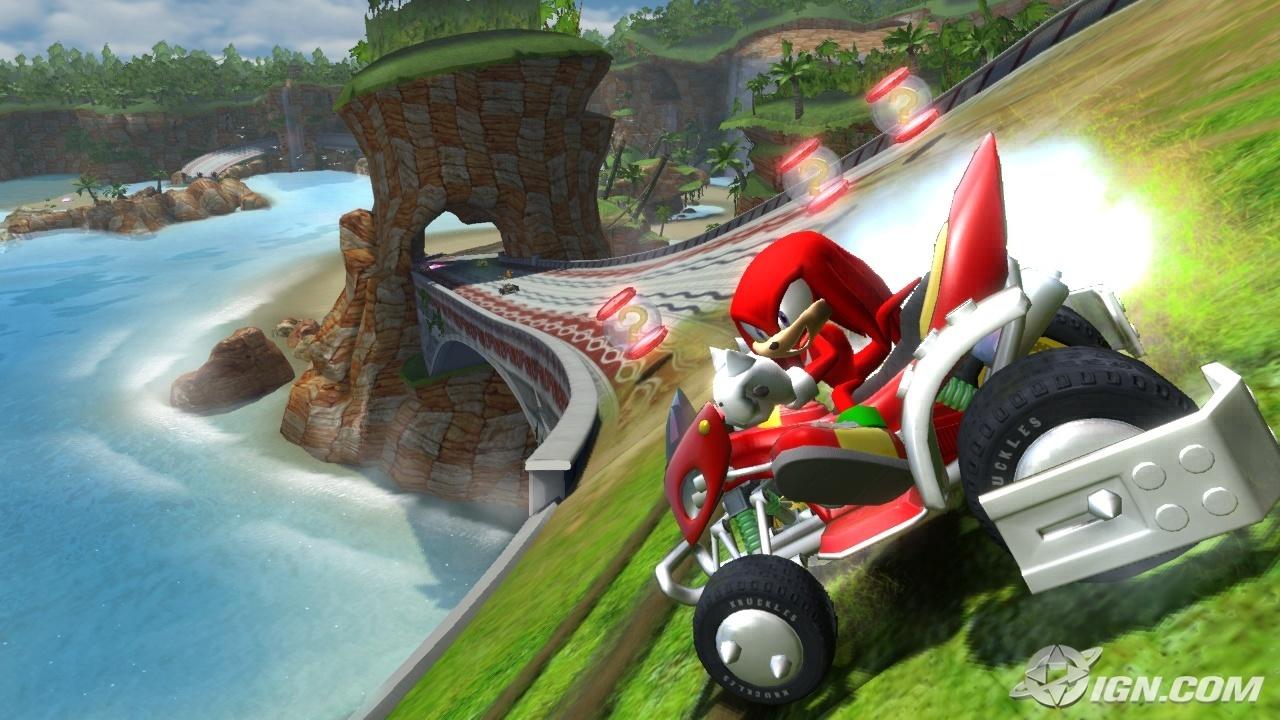 Sonic the Hedgehog sonic & sega all stars racing