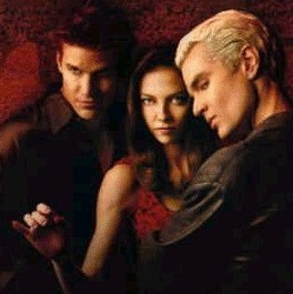 spike, Энджел and drusilla