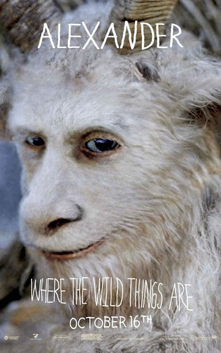 'Where The Wild Things Are' Movie Poster ~ Alexander