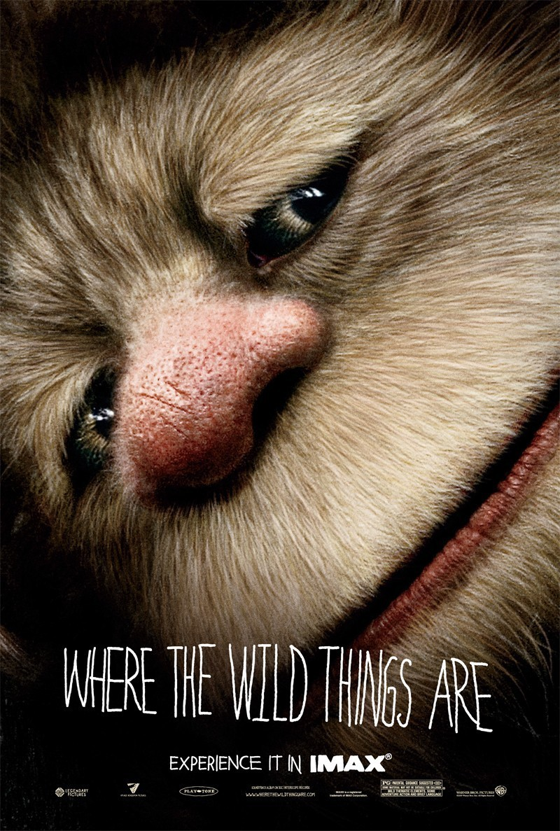 'Where The Wild Things Are' Movie Poster ~ Carol