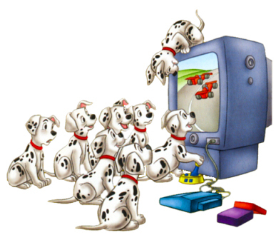 Disney wallpaper titled 101 Dalmatians