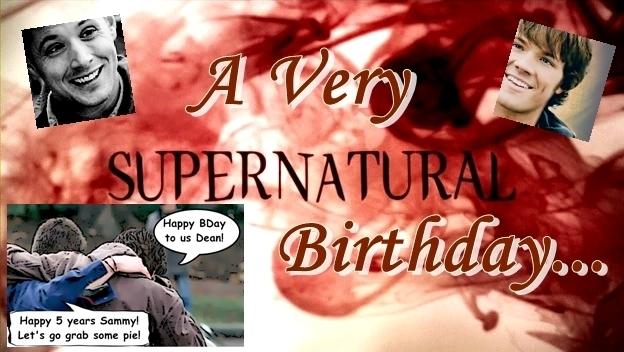 Supernatural Birthday Card image information – Supernatural Birthday Card
