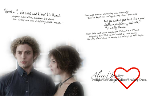 Alice and Jasper quotes