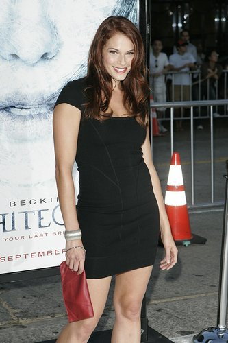 Amanda at Whiteout premiere