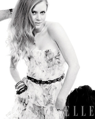 Amy Adams in Elle Magazine