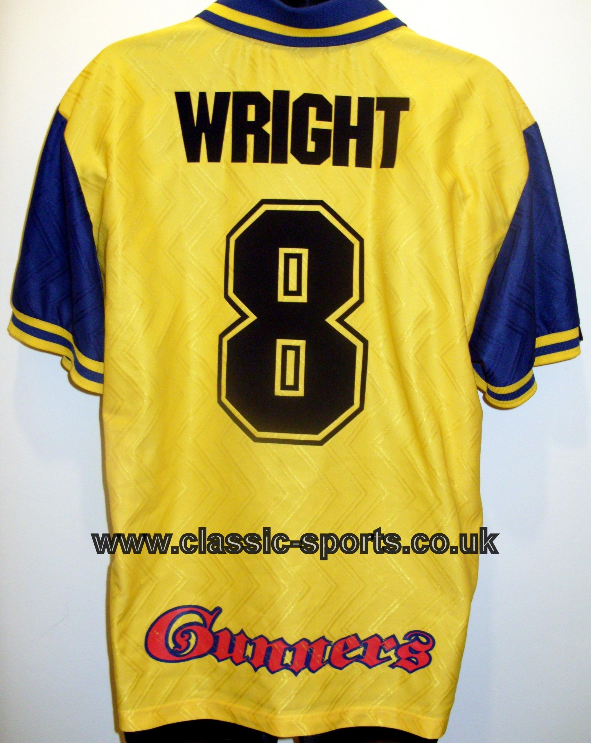 Arsenal Wright 8 Football シャツ