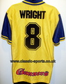 Arsenal Wright 8 Football shirt