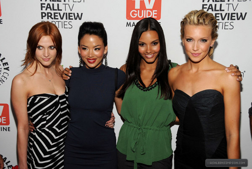 Ashlee @ PaleyFest Fall TV Preview Party