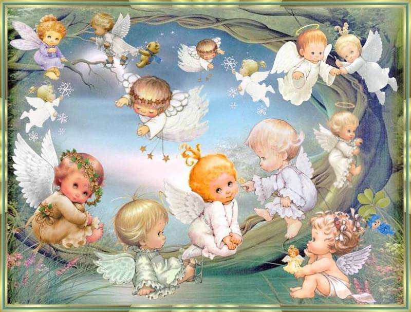 Angels Images Baby Angels Hd Wallpaper And Background Photos 8185775