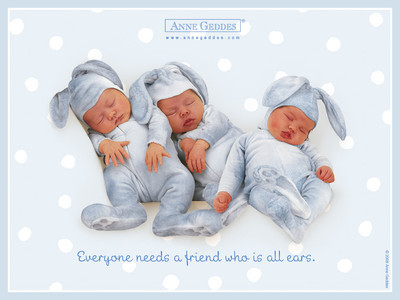 Sweety Babies wallpaper probably containing a neonate called Baby Friends