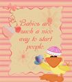 Baby Quote - sweety-babies fan art