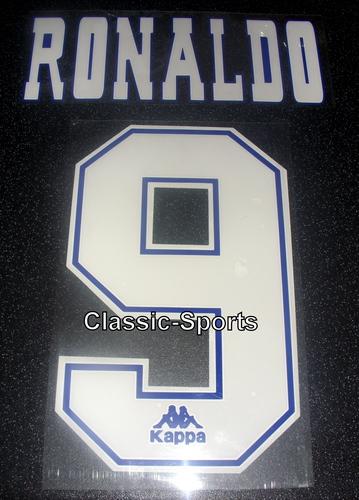 Barcelona Ronaldo 9 1995 Name Set