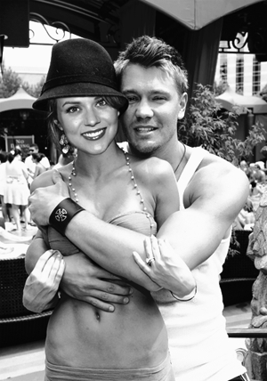 Chad and Hilarie wallpaper probably containing a street titled CH<3