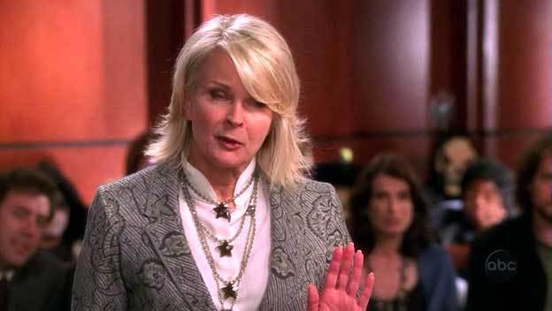 Candice Bergen in boston legal