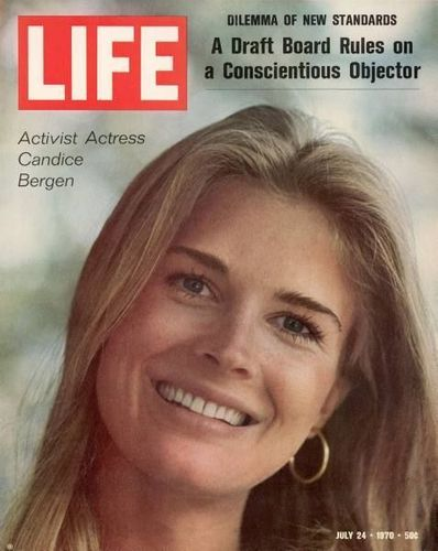 Candice Bergen - Life Magazine cover